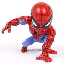 Marvel Spider Man Classic Spiderman Mini PVC Figure Toy Brinquedos Car H... - $15.30