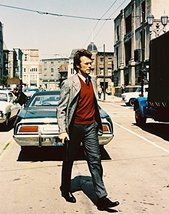 Dirty Harry Clint Eastwood Crossing Street 16x20 Canvas Giclee Color - $69.99