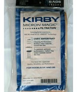 6 KIRBY VACUUM CLEANER BAGS G3 G4 G5 G6 ULTIMATE G G7 G7D MICRON MAGIC - $12.82