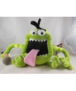 """Hallmark Microphone Mike Monster Talking Voice Recording Plush Toy Doll 8"""" - $17.81"""