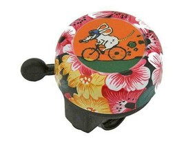PREMIUM STEEL 60mm Long Bolt on Flower Bicycle Bell 800a1 - $6.78