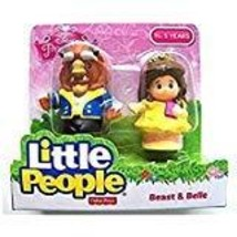 Fisher-Price Little People Disney Princess Beauty and The Beast Belle a... - $40.99