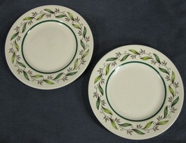 Royal Doulton ALMOND WILLOW D6373 Bread & Butter Plates Lot of 2 - $13.25