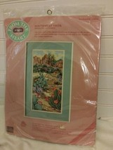 Dimensions From the Heart Needlepoint Southwest Vista 52044 G Geremia, N... - $27.71