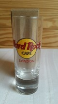 Hard Rock Cafe SHOT GLASS London Red Letters NEW - $6.34