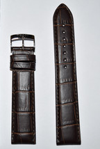 Original Tissot PR 100 20mm Brown Leather Band Strap For T101417 T101407... - $68.00