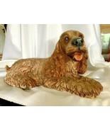 1986 Homco Cocker Spaniel Puppy Dog Sculpture - $75.00