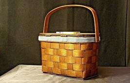 Sewing Basket AB 182 Vintage image 2