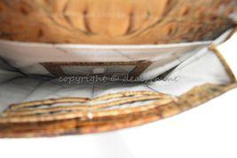 NWT Brahmin Manhattan Leather Shoulder/Crossbody Bag in Toasted Almond Melbourne image 6