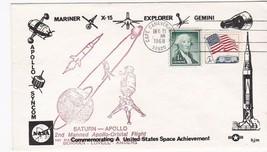 SATURN APOLLO 2nd MANNED APOLLO ORBITAL FLIGHT CAPE CANAVERAL 12/21/1968... - $1.98