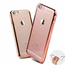 50 x Bulk Joblot Wholesale Electroplated TPU Cover Case for iPhone 7 Ros... - $100.00