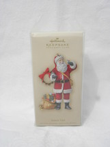 "2007 Hallmark Keepsake Ornament Club ""Santa's Visit"" Christmas Tree Orna... - $14.99"