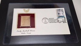 2003 Early Football Heroes Walter Camp Replica FDC 22kt Gold Golden Cove... - $9.89