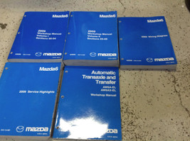 2009 Mazda MAZDA6 Service Repair Workshop Shop Manual Set W EWD & Highlights + - $108.85