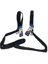 Petmate Comfort Cushion Leash Black Size Large With Sewn-In Comfort Set ... - $11.29
