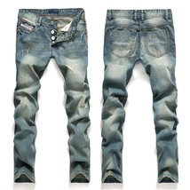 2018 New Arrival Fashion Spring and Summer Men's Casual Hole Jeans Summer Style  - $31.62