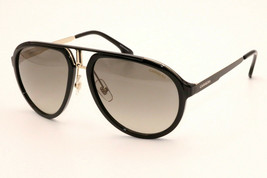 New Authentic Carrera 1003/S 807 PR Black Gold Men's Sunglasses 58-18-140 WCase - $88.11