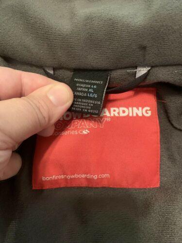 BONFIRE Mens Size XL XLarge Ski Snowboarding Jacket Full Zip Polyester Lining image 10