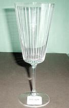 Kate Spade Marlborough Street Iced Beverage Footed Crystal Glass Germany... - $22.90