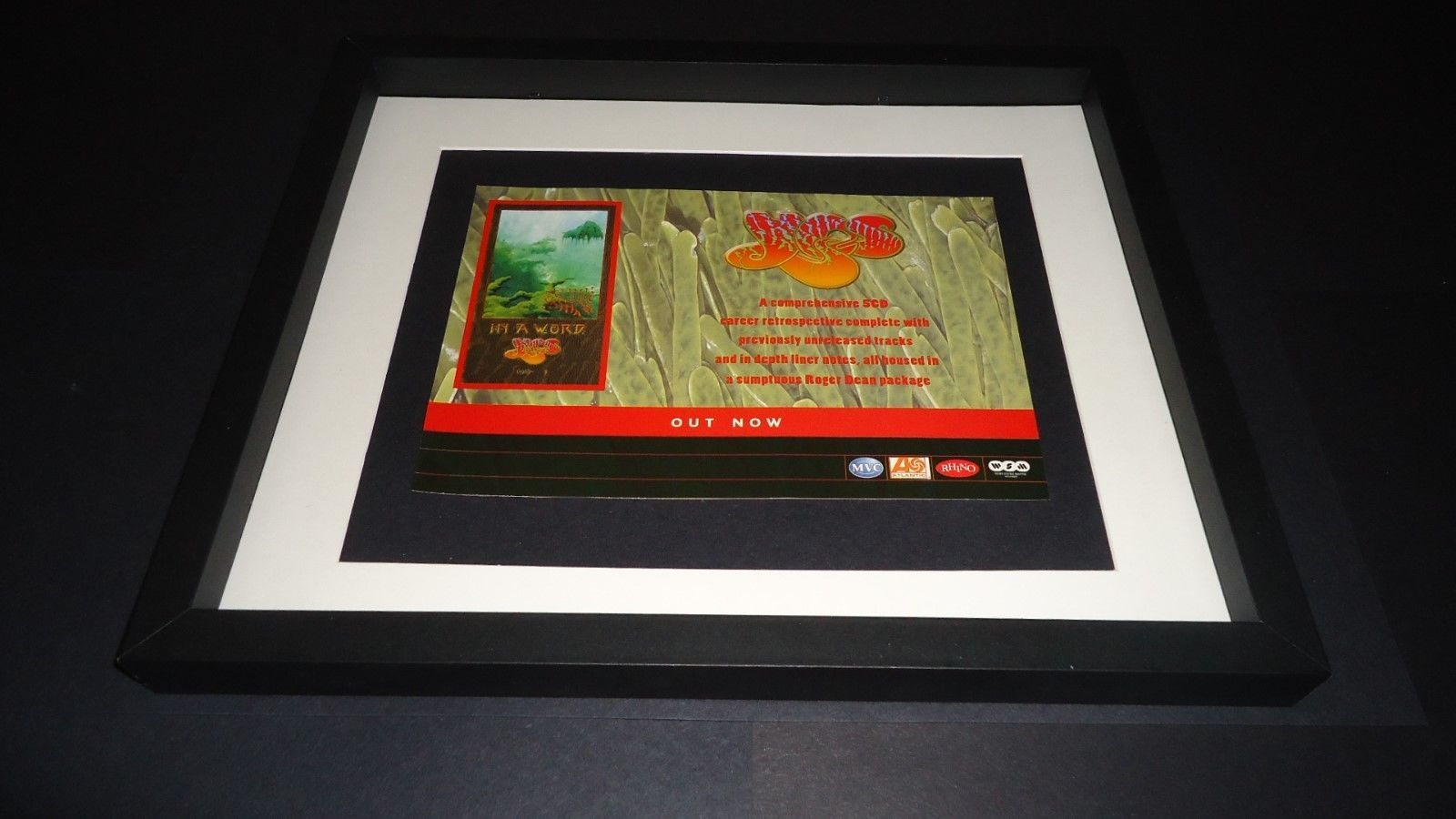 Primary image for Yes-In a Word-2002 Original advert framed