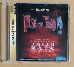 House of The Dead Demo Trial Sega Saturn Japan Import - $14.85