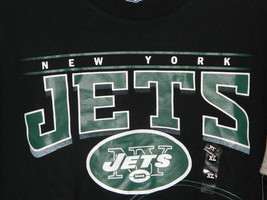 Team New York Jets NFL Team Apparel Black and Green Tee Size XL New with Tags - $14.20