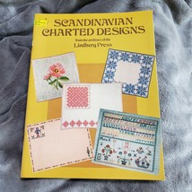 Scandinavian Charted Designs Counted Cross Stitch Pattern Book Dover Nee... - $8.59