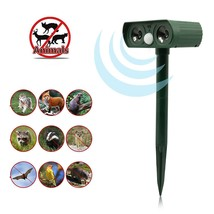 Outdoor Life Ultrasonic Animal and Pest Repeller - Solar Powered, Water ... - $29.07