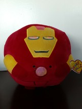"8"" New Iron Man Ty Beanie Ballz Plush Marvel Kids 2013 Self Balancing To... - $7.91"