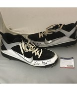 Autographed/Signed YONDER ALONSO 2012 Game Used Pair Cleats Shoes PSA/DN... - $149.99
