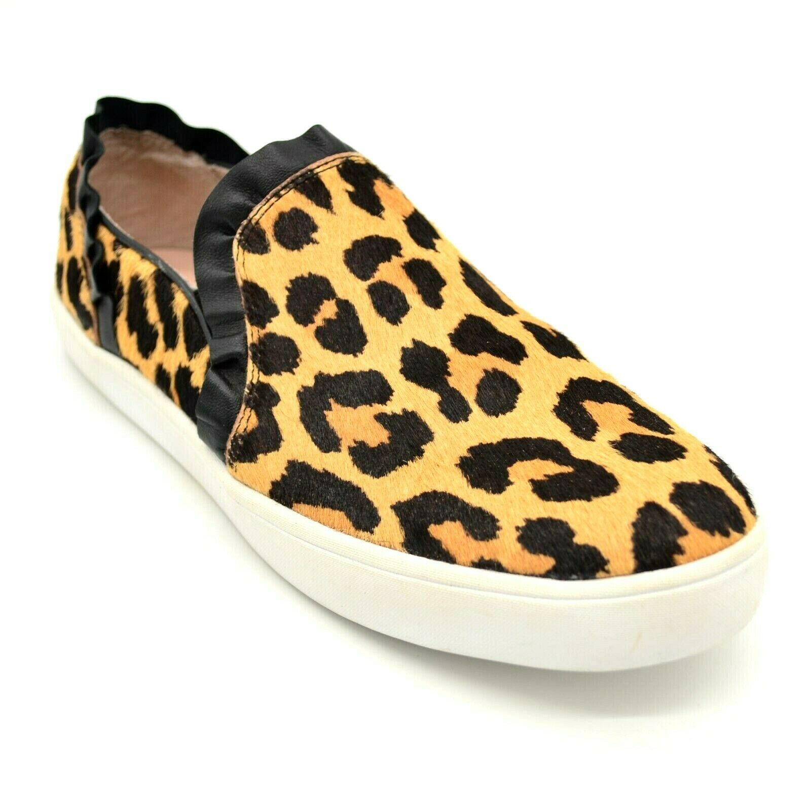 Kate Spade Womens Lilly Flat Loafer Size 7M  Brown Leopard Print Cushion NEW - $35.76