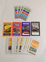 Parker Brothers Risk Transformer Cybertron Battle Replacement Cards Part... - $4.99