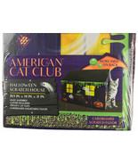 American Cat Club Cardboard Halloween Scratch House Bonus Catnip New In Box - $18.99