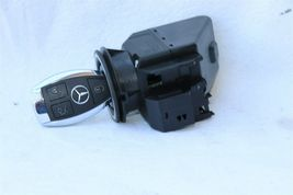 Mercedes Ignition Start Switch Module & Key Fob Keyless Entry Remote 2085450108 image 3
