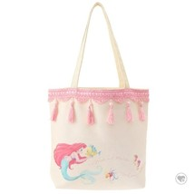 Disney store Little Mermaid Ariel Tote bag 2WAY shoulder Sebastian FS NE... - $56.43