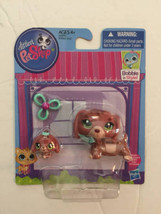 Littlest Pet Shop LPS #3601 #3602 Dachund dog and Baby Puppy New - $19.74