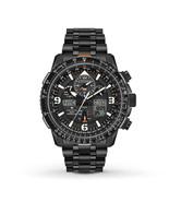 Citizen Men's Eco-Drive Skyhawk A-T Chronograph Stainless Steel Watch JY... - $395.01
