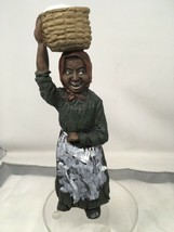 "Rare 1986  Martha Holcombe Clay Figurine ""Emma"" 1361 9.5"" Tall Cotton Picking - $1,034.80"