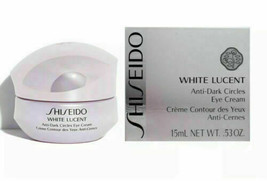 NIB Shiseido White Lucent Anti-Dark Circles Eye Cream .53 oz SEALED NEW $65 - $34.60