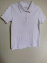 French Toast Girls Short Sleeve Uniform SHIRT- WHITE-S(6/6X) - $14.95