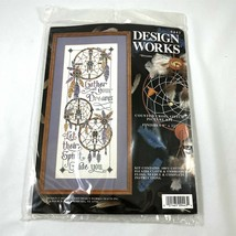 Dreamcatchers Dreams Come True Counted Cross Stitch Embroidery Picture Kit - $24.74