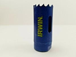 IRWIN 373100BX 1-Inch Bi-Metal Hole Saw 25mm w WeldTec  - $11.99