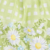 Mayoral Baby Girls 3M-24M Green Bow Shoulder Check Plaid Border Print Dress image 3