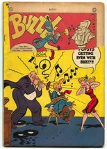 BUZZY #10 1946-DC COMICS-RECORDS ON COVER FR - $44.14