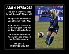 Julie Ertz Inspirational Soccer Motivation Quote Poster Daughter Gift Wa... - $19.99+