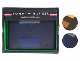 Tommy Hilfiger Men's Premium Leather Credit Card ID Wallet Passcase 31TL130013 image 1