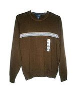 JOHN ASHFORD Men's Sz M Long-Sleeves Crewneck Pullover Sweater - MSRP $4... - $17.65