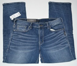 Silver Jeans Co. Zac Relaxed Fit Straight Leg Jeans M42408SWK379 NEW $99 - $59.99
