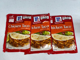 McCormick Chicken Taco Seasoning Mix 1oz X 3 - $7.70