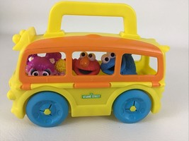 Sesame Street On The Go School Bus Abby Cadabby Cookie Monster Elmo Hasb... - $24.02